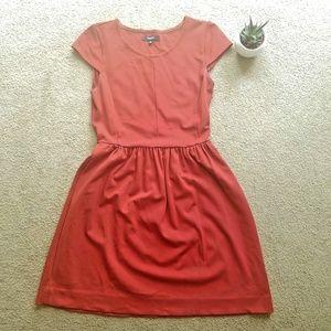 Madewell Red Ponte Screenplay Dress w/ POCKETS!